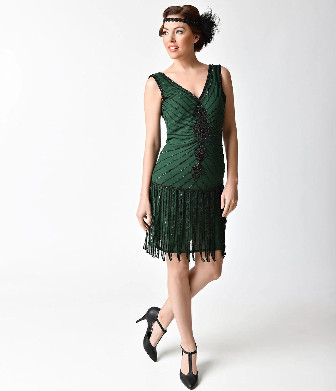 1920' Style Dresses Flapper Gatsby