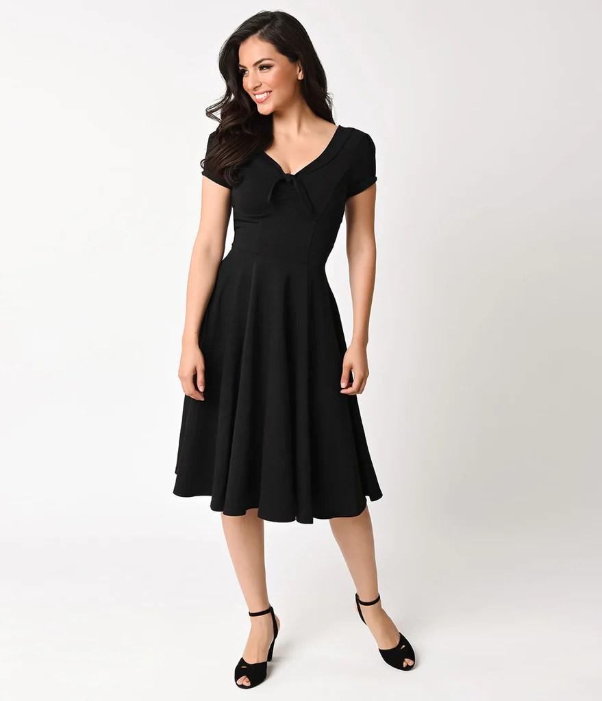 swing dresses - vintage 50s