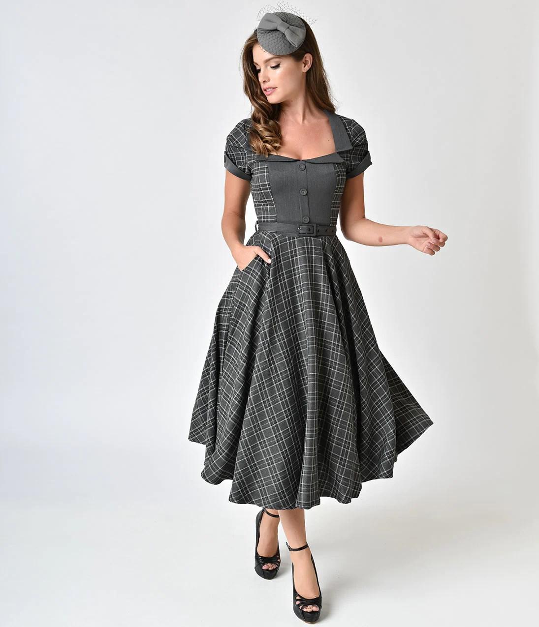 1940s Dress Fashion Style