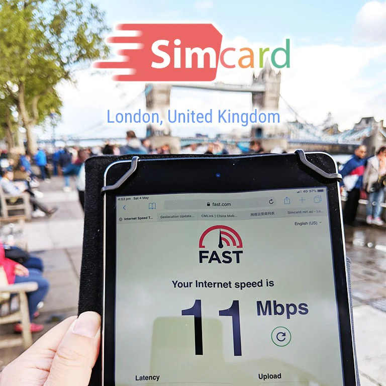 Europe Sim Card | UK Travel Sim | 42 Countries | 30 days 15GB – Simcard.net.au
