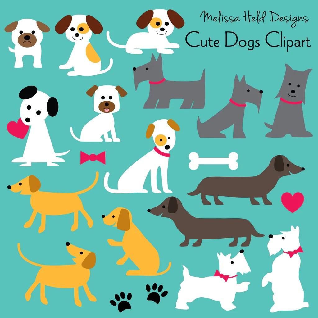 small resolution of cute dog clipart