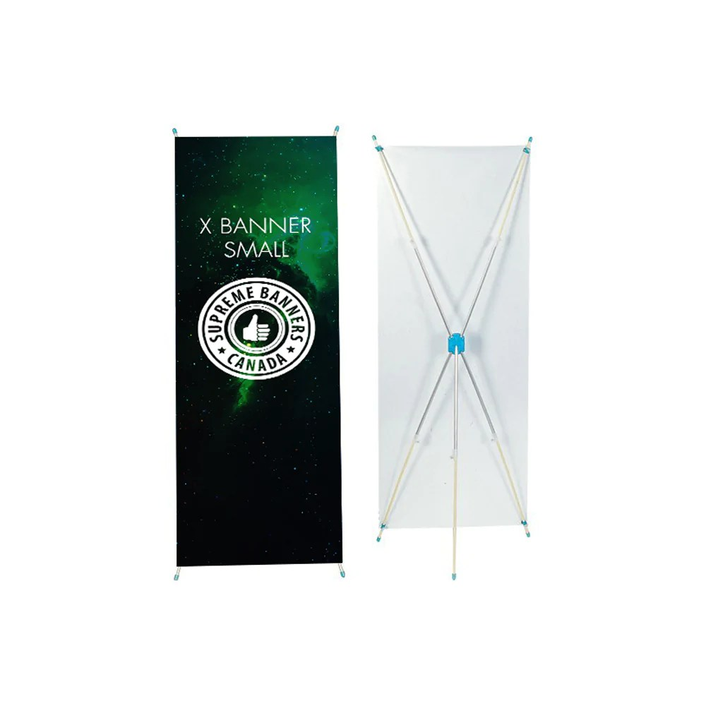 x banner small large