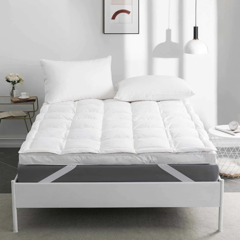 goose feather mattress topper feather bed