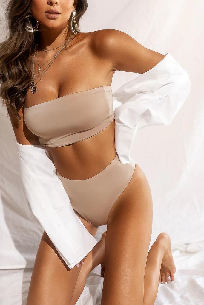 Private Island Bikini Set - Nude