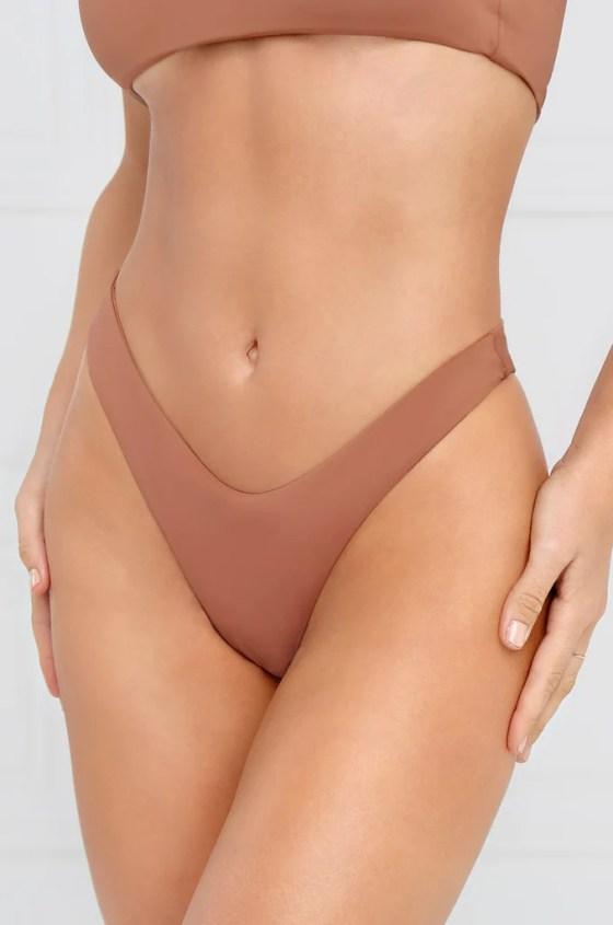 Slow Dive Bikini Bottom - Mauve 8