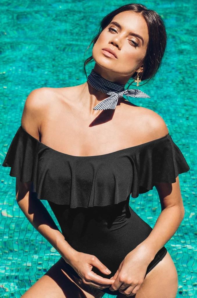 Vera Swimsuit - Black 10