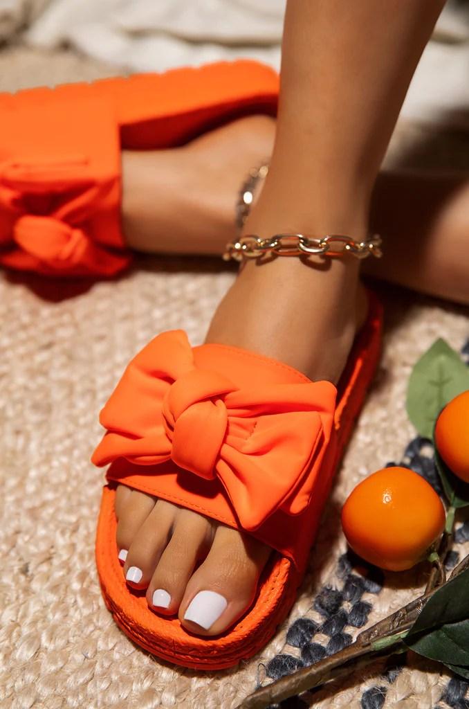Hot Summer - Neon Orange