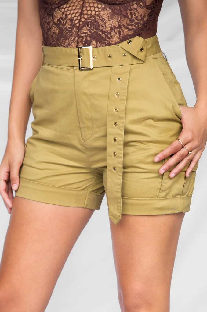 Code Red Shorts - Taupe 9