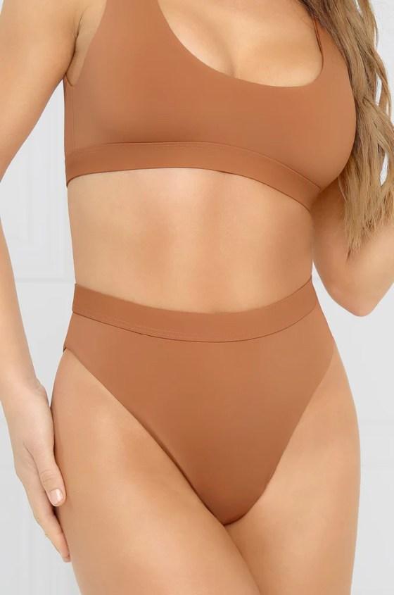 New Wave Bikini Bottom - Desert Sand 7