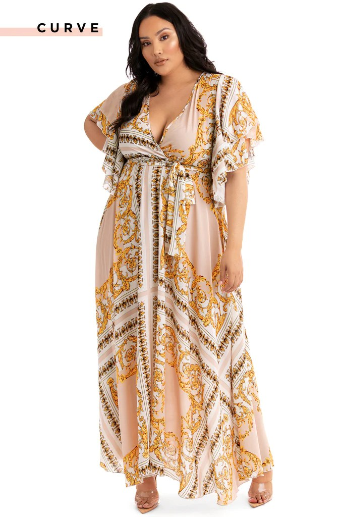 Like A Goddess Maxi Dress - White 18