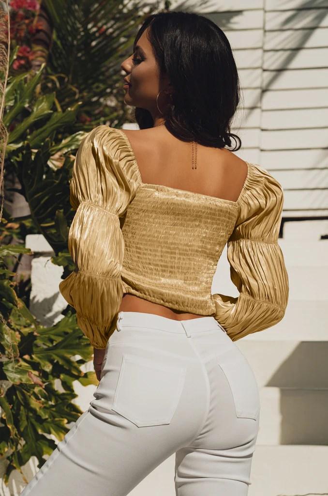 Summer Glow Top - Gold