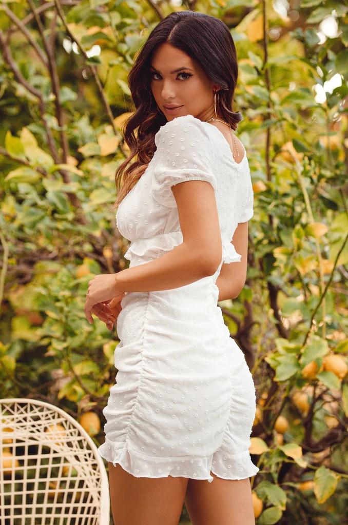Date Ready Dress - White