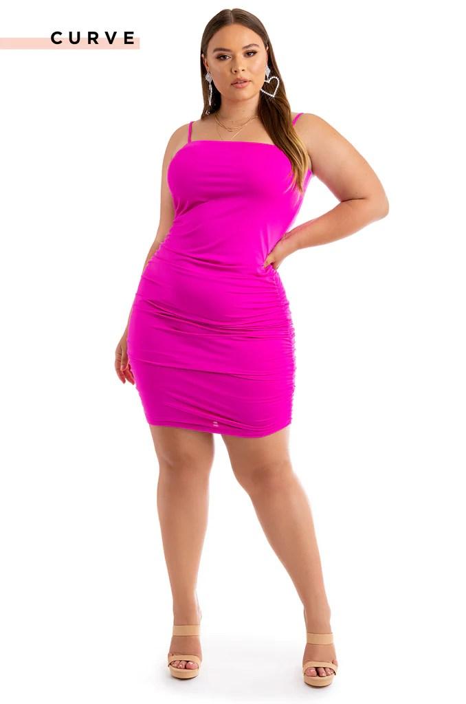 Dream Babe Dress - Pink 2