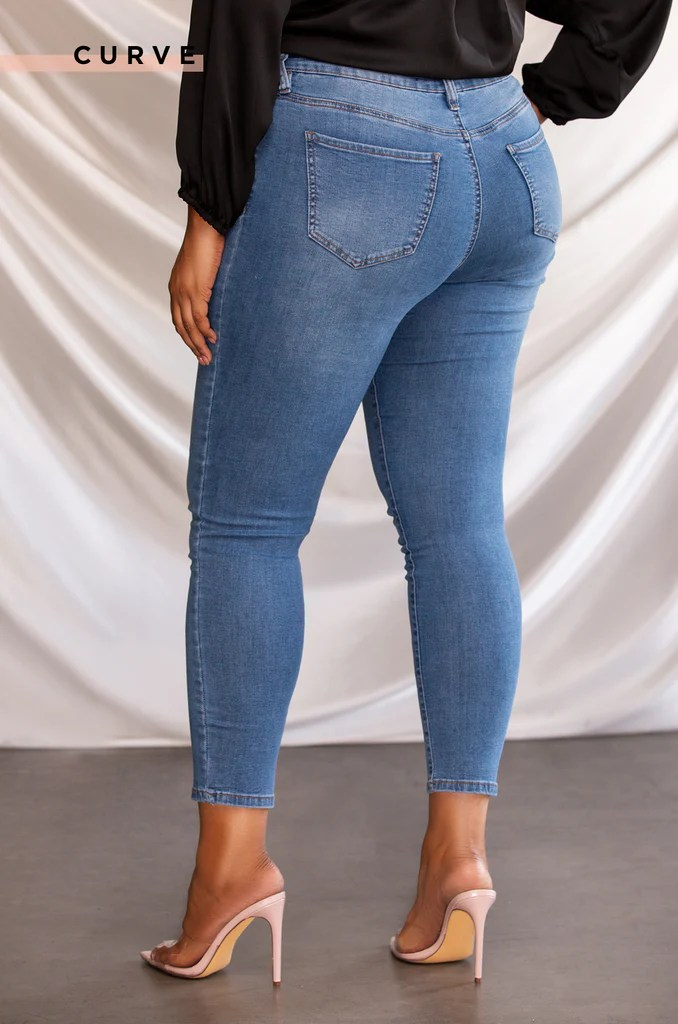 Can't Let Go Jean - Denim