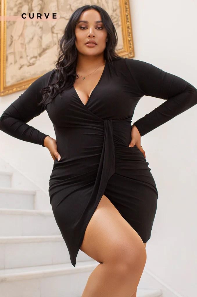 Always Desired Dress - Black 2