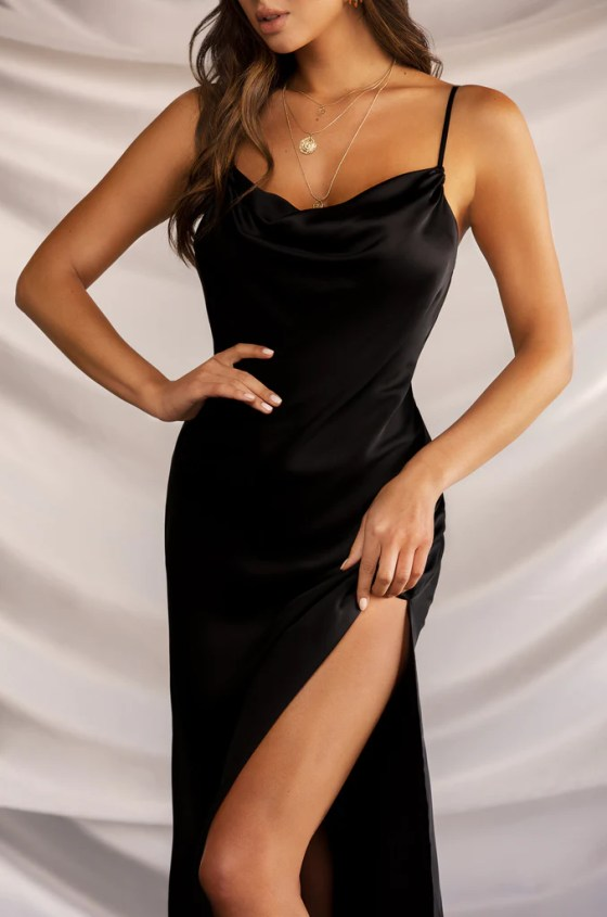 Night Romance Dress - Black 6
