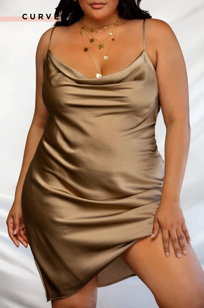 On Your Mind Dress - Nude 17