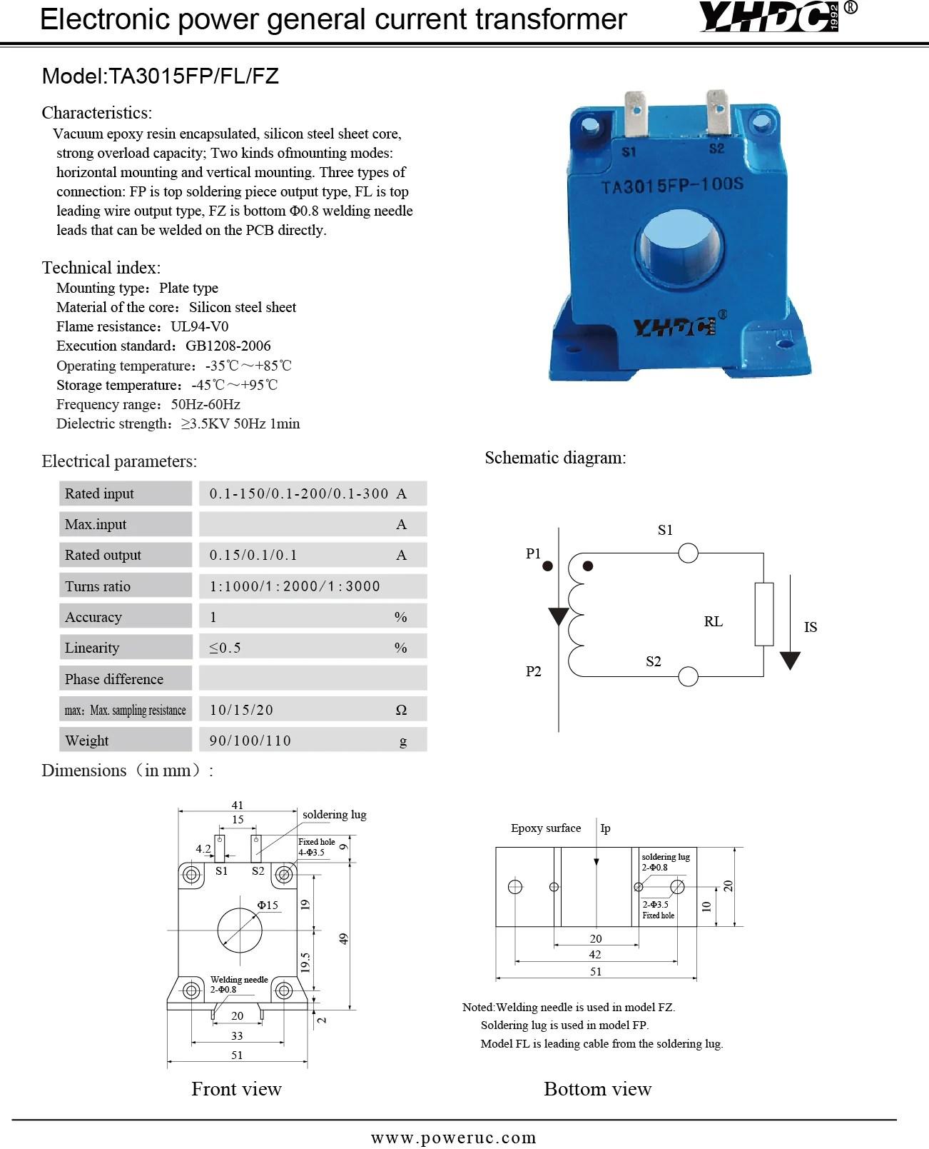 electrical parameters  [ 1302 x 1609 Pixel ]