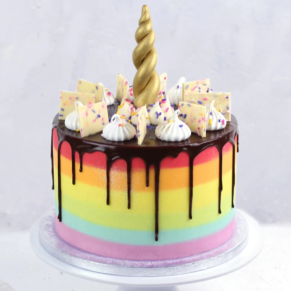 Unicorn Rainbow Cake Unicorn Birthday Cake Flavourtown Bakery