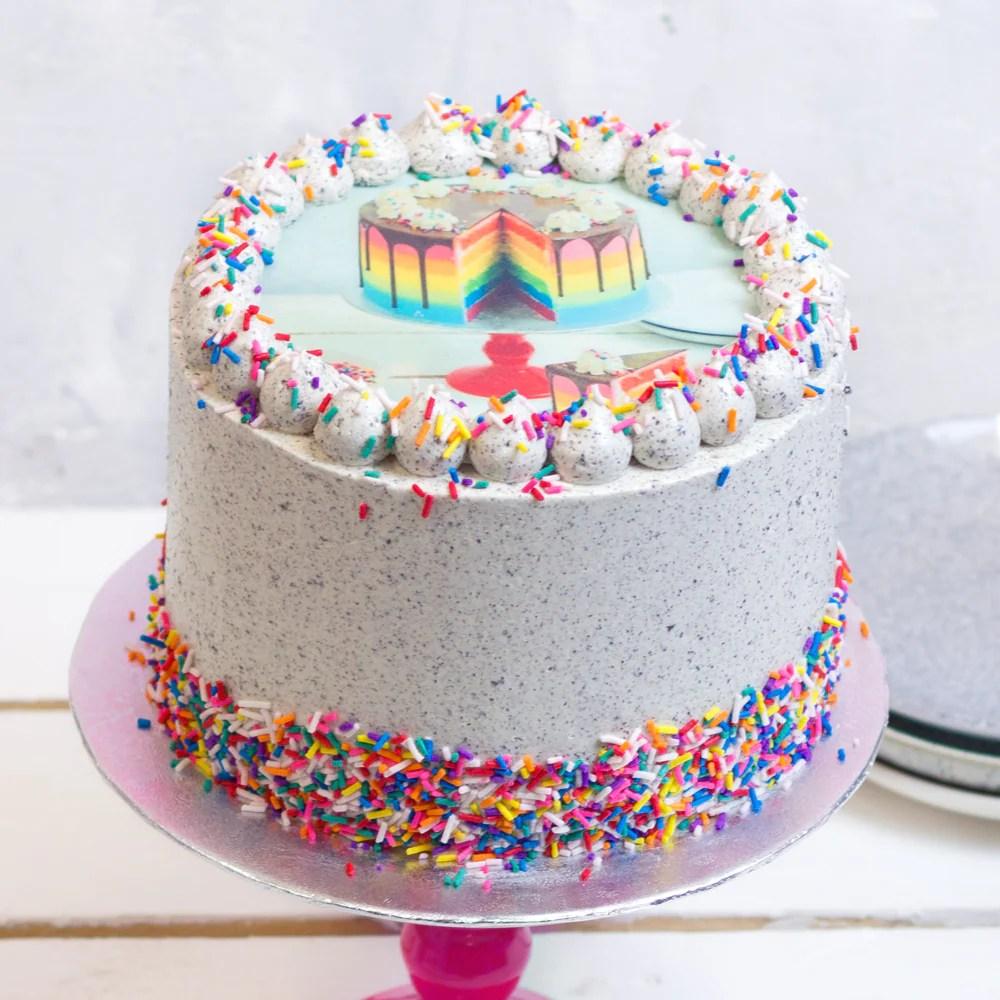 Oreo Photo Cake – Flavourtown Bakery