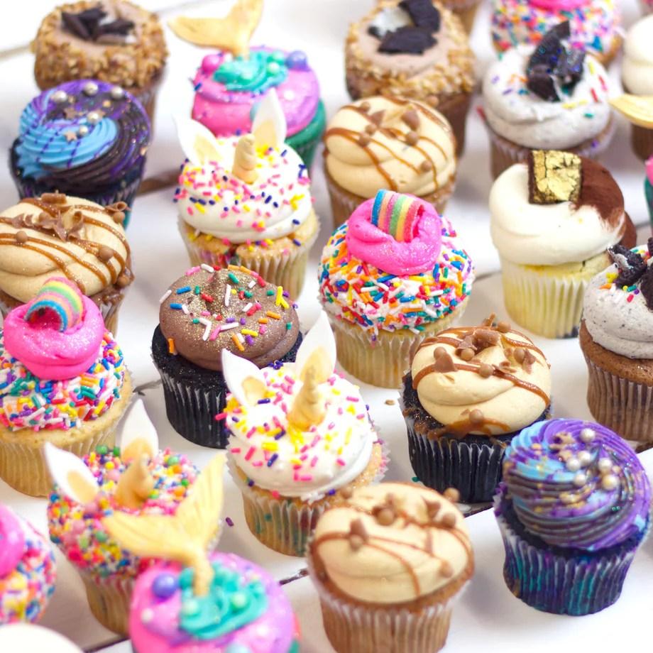 Regular Cupcakes Mini Cupcakes Flavourtown Flavourtown Bakery