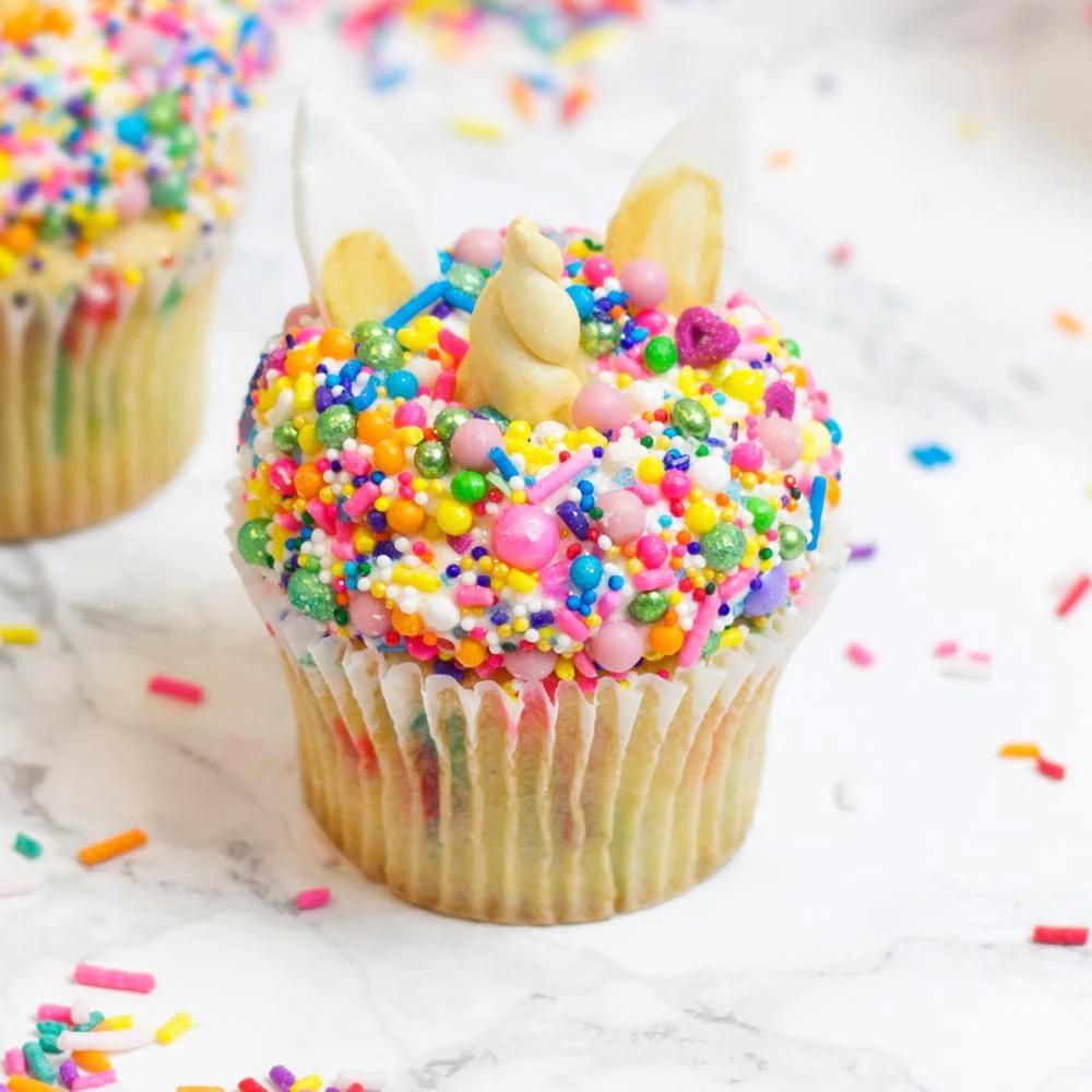 Sprinkle Unicorn Mini Cupcake Cupcakes London Flavourtown Bakery