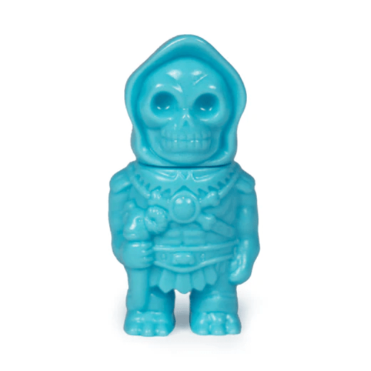 Masters of The Universe Micro Vinyl- Skeletor (Turquoise)