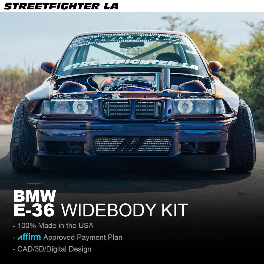 bmw e36 wide body kit [ 1024 x 1024 Pixel ]