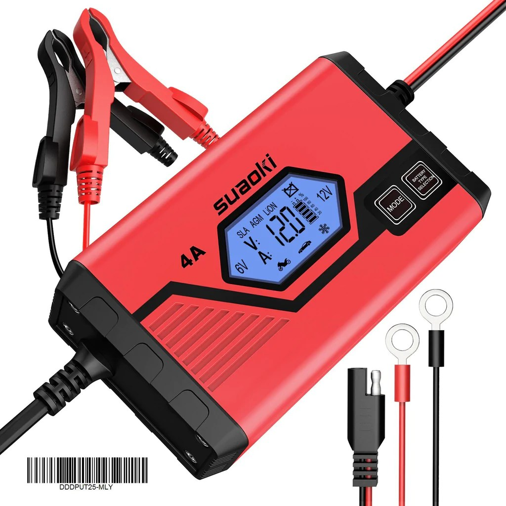 small resolution of  4a 6 12v car battery charger 4a
