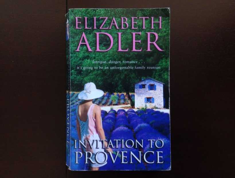 Elizabeth Adler Invitation To Provence Fiction