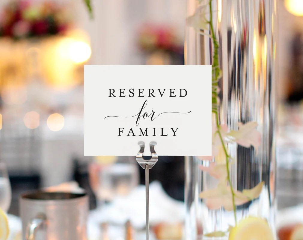 reserved signs for chairs template restaurant wholesale free printable wedding sign table pdf
