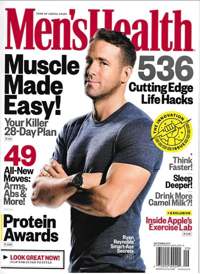 Mens Health Magazine  September 2017  MPG Sport USA