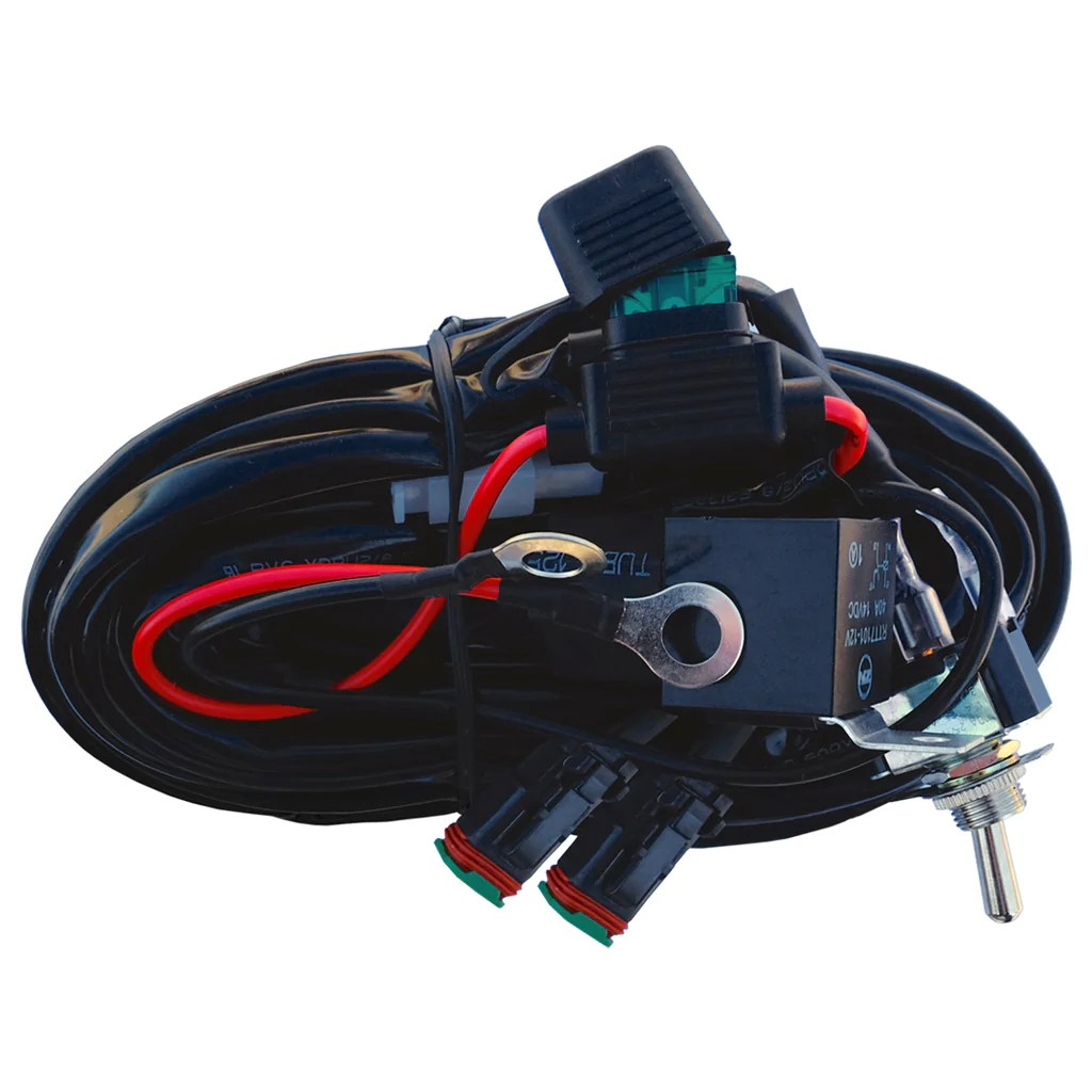 hight resolution of dual deutsch wiring harness kit nwh2