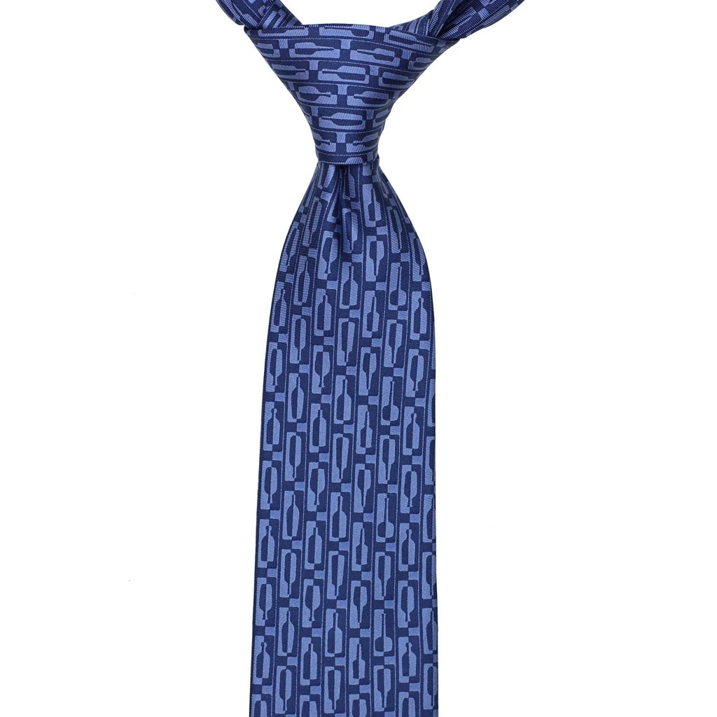 bourbon row necktie navy