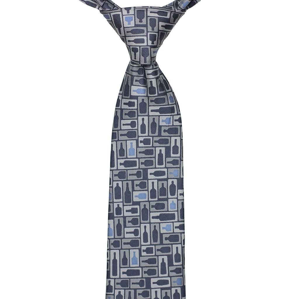 retro bourbon necktie navy