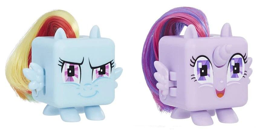 Fidget Its My Little Pony Twilight Sparkle And Rainbow Dash Fidget Cub Brik House Toys