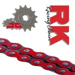 Honda Msx125 Chain And Sprocket Set Red Motorcycle Parts Uk