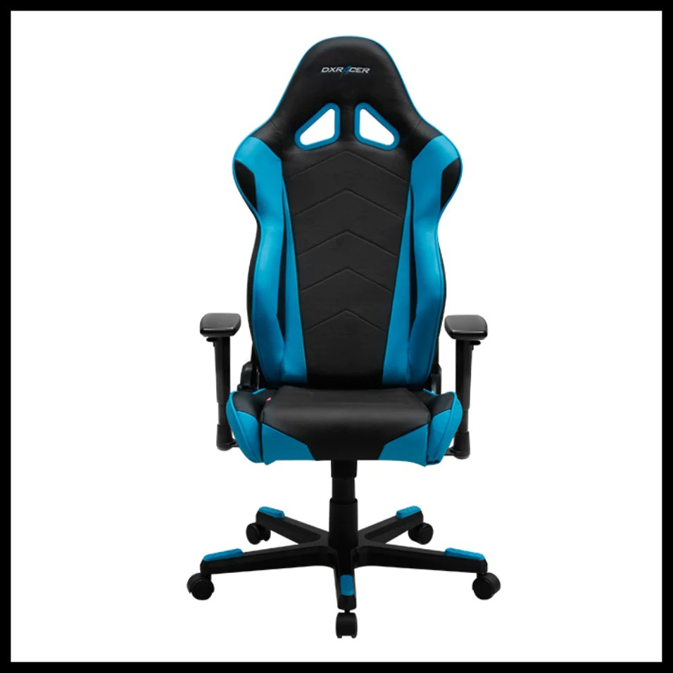 Dxr Chair Dxracer Oh Re0 Nb Black Blue Racing Series Gaming Chair Racer