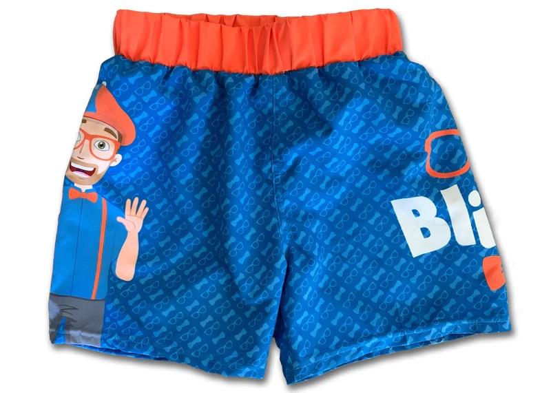 blippi swim shorts