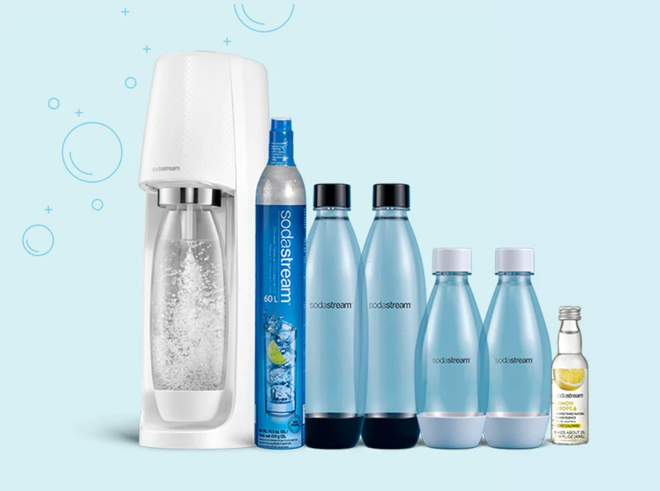 sodastream official sparkling water