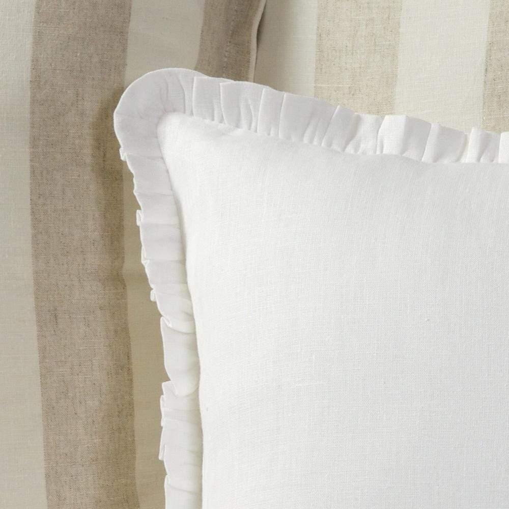 solid linen king pillow sham crown linen designs