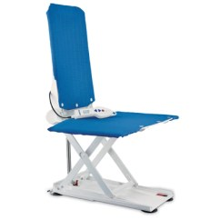 Bathtub Chair Lift Reviews Sleek Dining Room Chairs Bath For Elderly The Seats Aquatec R Reclining Back Blue
