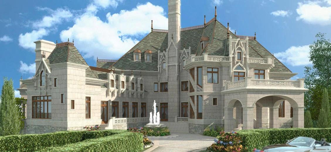 Castle House Plans Stock House Plans Archival Designs