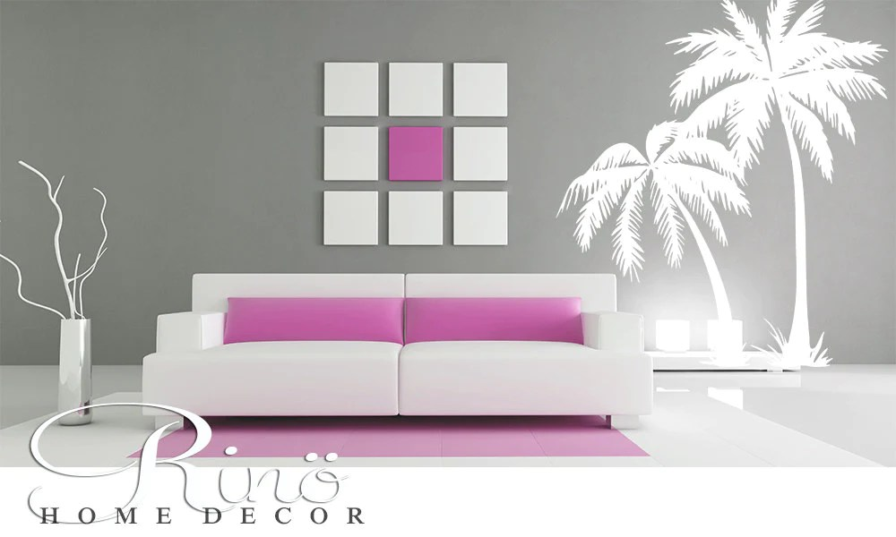 Palm Tree DECAL Wall Art Palmtree Vinyl Wall Stickers No