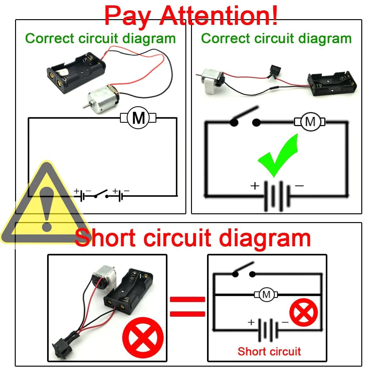 small resolution of  eudax 6 set small dc motor mini electric hobby motors 1 5v 3v 15000rpm with