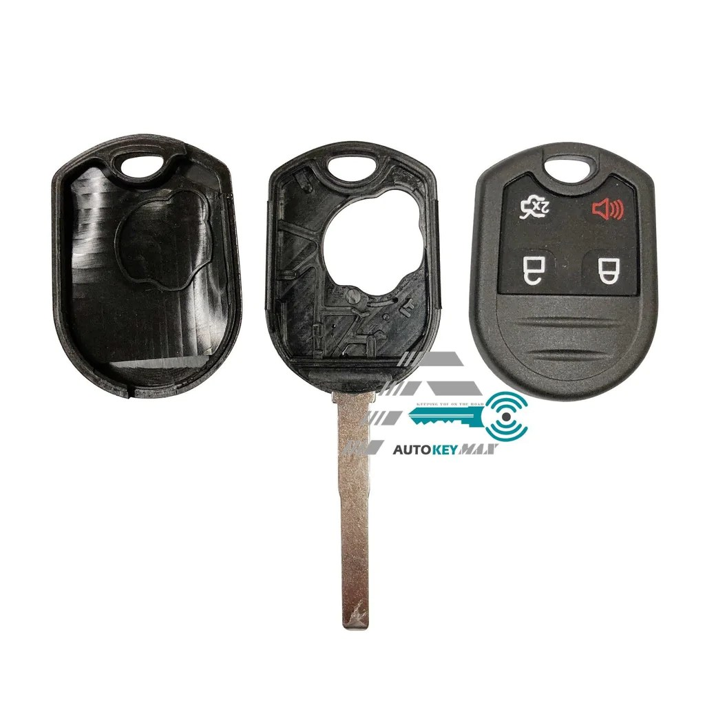small resolution of new ford replacement remote head key case shell 4b high security hu101