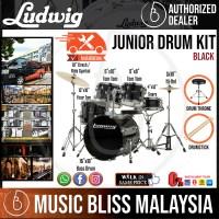 "Ludwig LJR1061DIR 5-Piece Junior Drum Kit with 16"" Bass ..."
