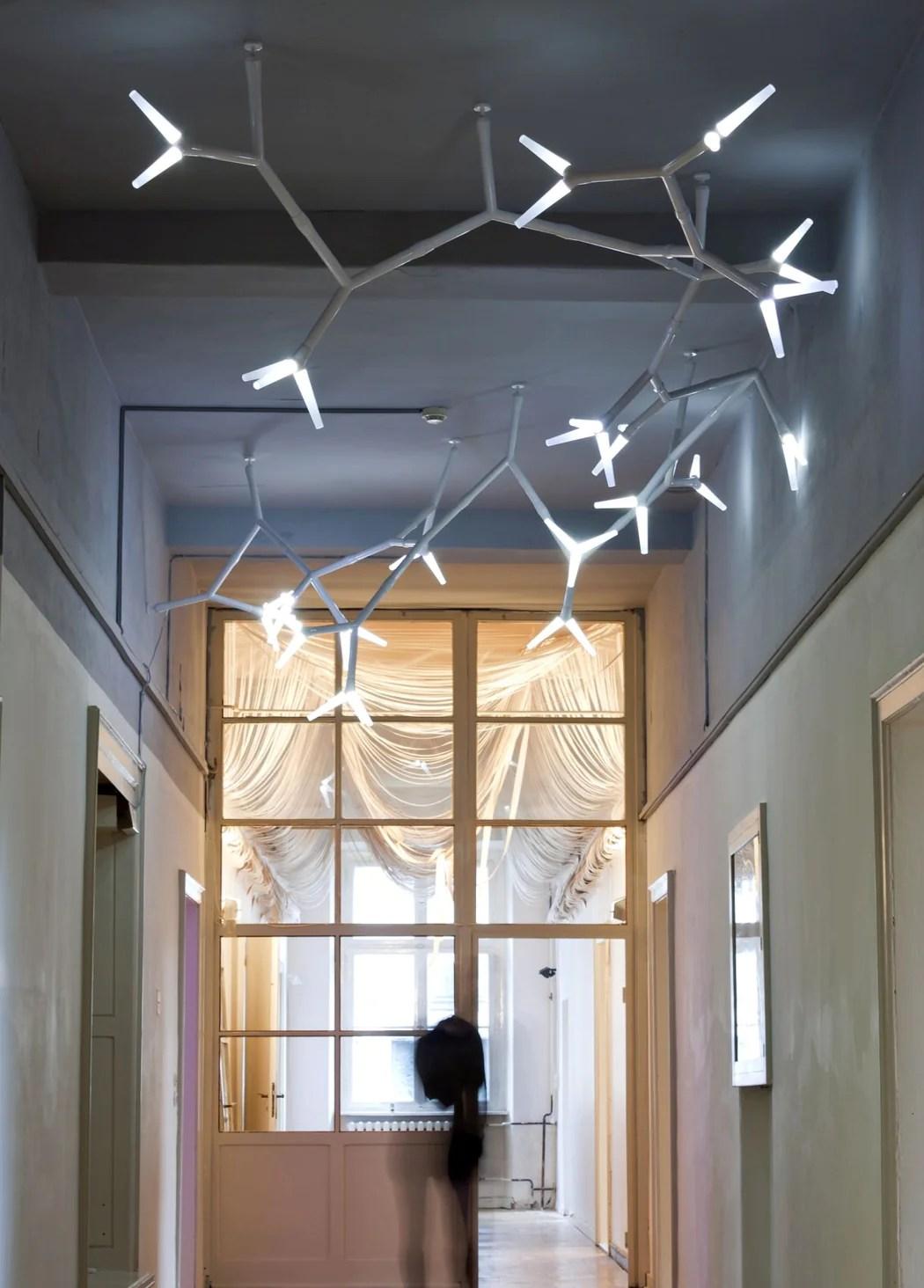 unusual modern modular lighting system