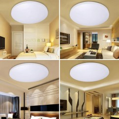 Led Ceiling Light Living Room Home Decorating Ideas Curtains Lighting Fixture Modern Lamp Bedroom Kitchen Bathroom Surface Mount