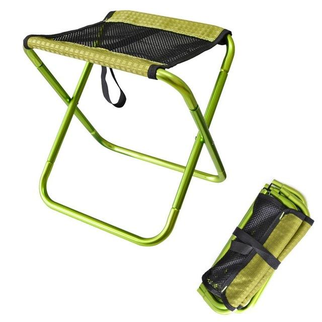 green fishing chair french louis chairs outdoor foldable ultra light portable folding backpack camping oxford cloth aluminum day